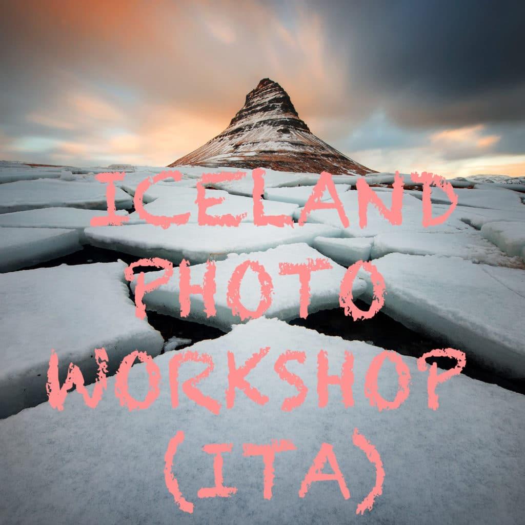 Iceland Photo Workshop (Versione ITA)